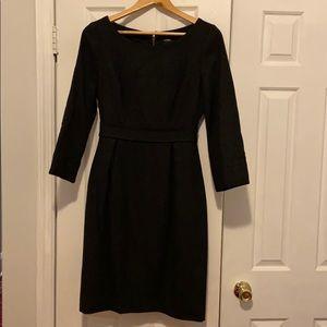 J. Crew Charcoal Clea Dress Size 8